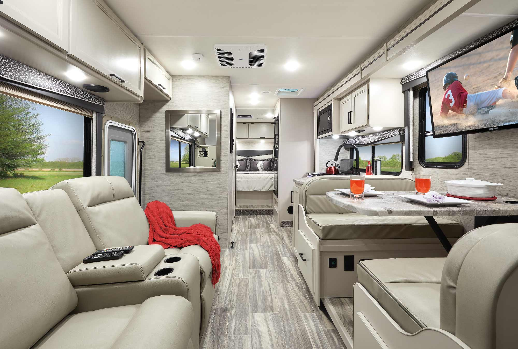 Four Winds Class C Motorhome Interior